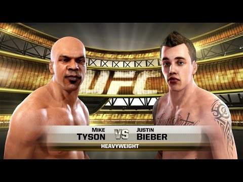 celebrity - Mike Tyson vs Justin Bieber UFC Celebrity Deathmatch UFC PLAYLIST https://www.youtube.com/playlist?list=PL0i4Tca5g7T9i3obE-KDz9Y0_47D9JEvd ➼ http://bit.ly/SuBscRibE ♥ ☆ 5% off SCUF controller...