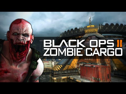 BLACK OPS 2 ZOMBIE CARGO ★ Call of Duty Zombies Mod (Zombie Games)