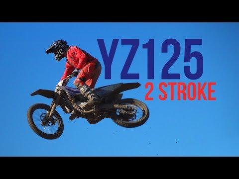 2018 YAMAHA YZ125 2 STROKE RAW SOUND!!!