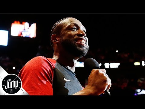 Video: Don't get excited, Lakers fans: Dwyane Wade won't be coming out of retirement | The Jump