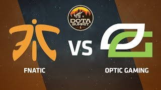 Fnatic против OpTic Gaming, Вторая карта, DOTA Summit 9 LAN-Final