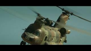 El Chinook en ZONA HOSTIL película