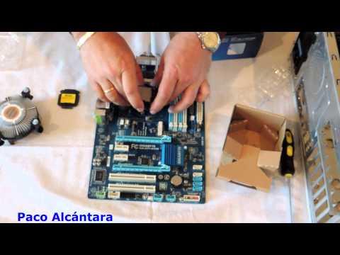 core i5 - Montar un ordenador desde cero con procesador INTEL CORE I5 PRIMERA PARTE TUTORIAL DE MONTAJE PASO A PASO EN ESPAÑOL COMPONENTES: PLACA BASE: GIGABYTE Z77-DS...