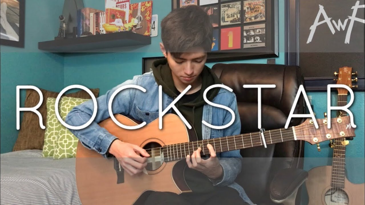 Post Malone – rockstar ft. 21 Savage – Cover (fingerstyle guitar)