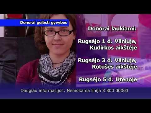 Donorai gelbsti gyvybes!