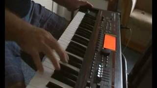 Video Keyboard solo on Juno G