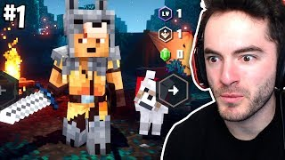 Welcome To Minecraft Dungeons