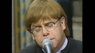 Video Elton John - Candle in the Wind/Goodbye England's Rose - Princess Diana's Funeral 1997 MP3, 3GP, MP4, WEBM, AVI, FLV Juni 2019
