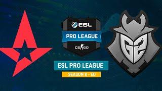 Astralis vs G2 - ESL Pro League S8 EU - bo1 - de_overpass [CrystalMay, Smile]
