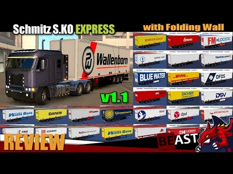 [1.30] Schmitz S.KO EXPRESS with Folding Wall – Rework v1.1