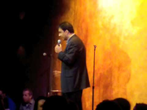 Khurum Sheikh Hosts The Funny Bone Comedy Club on January 3, 2009