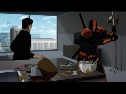 Teen Titans: The Judas Contract - Dick Grayson Vs  Deathstroke [4K 60fps]