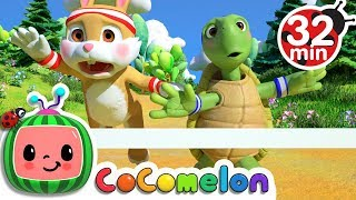 The Tortoise and the Hare | +More Nursery Rhymes & Kids Songs - Cocomelon (ABCkidTV)