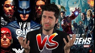 Video Justice League UNWATCHABLE!? DCEU vs MCU - Can't We All Get Along? MP3, 3GP, MP4, WEBM, AVI, FLV Desember 2017