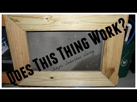 Outdoor Woodburning Garage Heater - How well does it work?