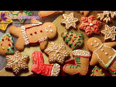Gingerbread cookies ( biscotti di pan di zenzero ) recipe