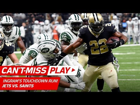 Video: Mark Ingram WILL NOT BE STOPPED on TD Drive vs. NY! | Can't-Miss Play | NFL Wk 15 Highlights