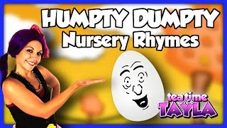 Humpty Dumpty, Nursery Rhymes with lyrics
