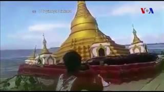 Tin tức: http://www.facebook.com/VOATiengViet, http://www.youtube.com/VOATiengVietVideo, http://www.voatiengviet.com. Nếu không vào được VOA, xin các bạn hãy vào http://vn3000.com để vượt tường lửa.Mưa lớn đã nhấn chìm một ngôi chùa Myanmar tại làng Kyinthiri, thuộc khu vực Magwe. Mực nước dâng cao được cho là đã làm yếu móng của ngôi chùa, khiến nó dễ dàng đổ sụp.