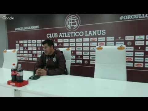 Conferencia de Almirón previo a Independiente