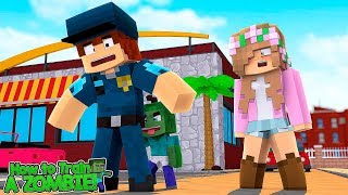 LITTLE KELLYS BABY ZOMBIE ATTACKS SOMEONE?!   How To Train Your Zombie   Minecraft Little Kelly