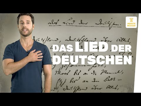 Die deutsche Nationalhymne