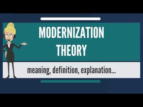 what are the factors and process of modernization