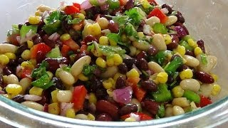 Mexican Bean saladTo further communicate regarding any of my recipeshttps://www.facebook.com/groups/najatskitchen/https://twitter.com/najatskitchen