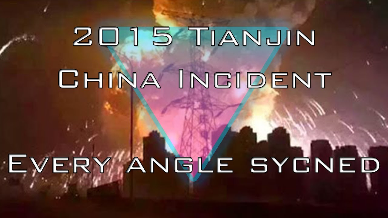 Explosion in Chinese city of Tianjin