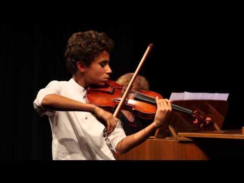 Adj teret a tehetségnek! 2014 - Tichiti Naim (hegedű) produkciója