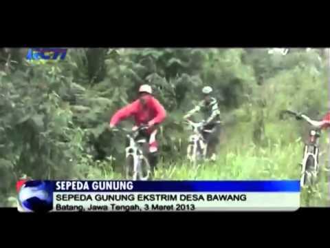 Video sepeda gunung Indonesia - Sepeda Gunung Ekstrim di Desa Bawang di Kampung Batang, Jawa Tengah Indonesia - Taruhan bola, poker, casino online di http://goodlucky99.com/
