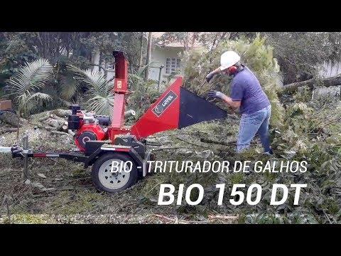 Triturador de galhos compacto e eficiente - BIO 150 DT