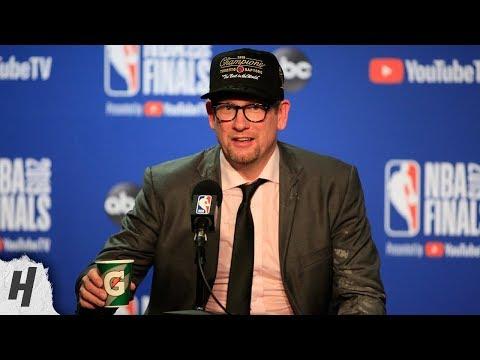 Nick Nurse Postgame Interview - Game 6 | Raptors vs Warriors | 2019 NBA Finals