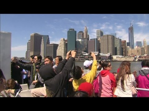 tourism - Chinese tourism to New York City and elsewhere grows. CNN's Richard Roth reports from Manhattan. For more CNN videos, visit our site at http://www.cnn.com/vi...