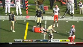 Brandon Lindsey vs Syracuse 2011