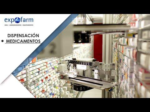 Dispensación de medicamentos con los robots de farmacia Apostore
