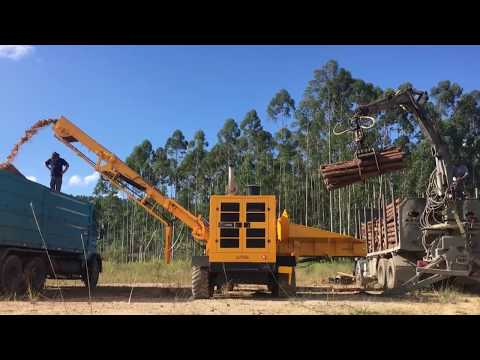 Picador Florestal de alta capacidade - RAPTOR 700