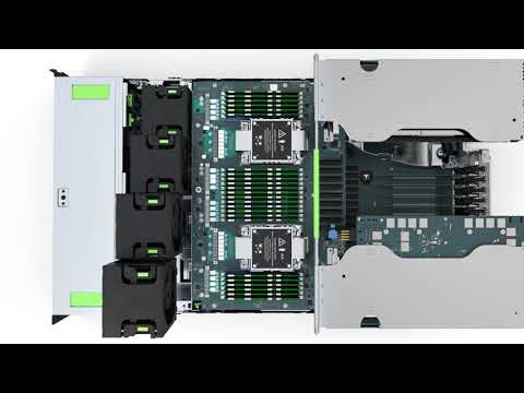 Watch 'FUJITSU Server PRIMERGY RX4770 M6'