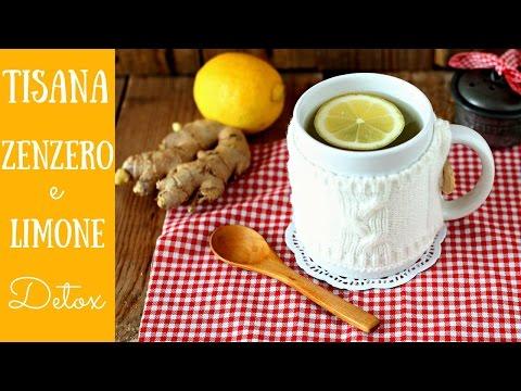 detox antinfluenzale: tisana allo zenzero e al limone