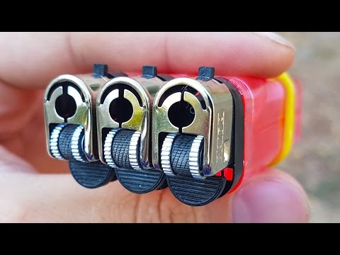 5 awesome tricks with lighters