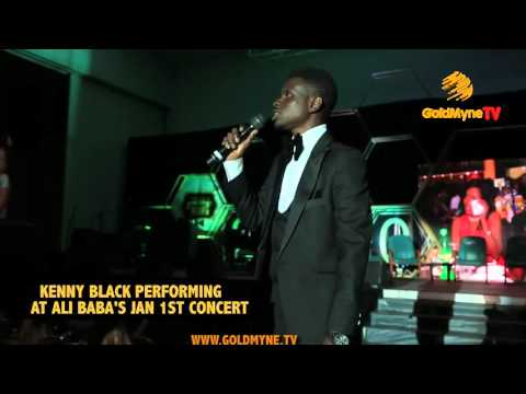 KENNY BLACK'S PERFORMANCE AT ALI BABA'S JANUARY 1ST CONCERT (Nigerian Comedy)