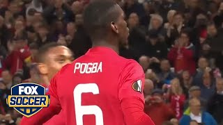 Paul Pogba starred in Manchester United win by FOX Soccer