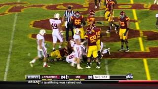 Matt Barkley vs. Stanford (2011)