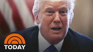 Video President Trump Denies 'S***hole Countries' Comments | TODAY MP3, 3GP, MP4, WEBM, AVI, FLV April 2018
