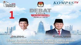 Video LIVE Debat Kedua Capres Pemilu 2019 -- Jokowi vs Prabowo -- MP3, 3GP, MP4, WEBM, AVI, FLV Februari 2019