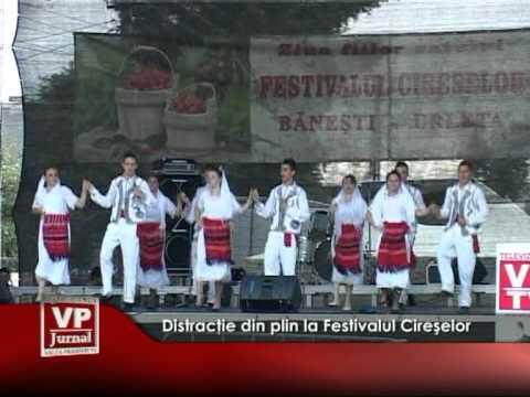 Distracţie din plin la Festivalul Cireşelor