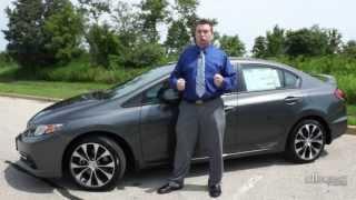 2013 Honda Civic Si Sedan Test Drive Review