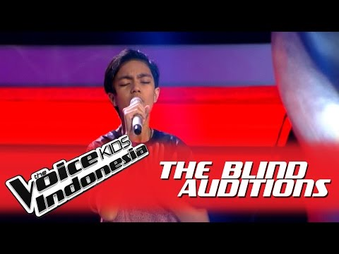 "Christoper ""Grenade"" I The Blind Auditions I The Voice Kids Indonesia GlobalTV 2016"