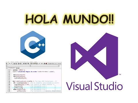 Curso Visual C++ | Hola Mundo !! | PARTE 1 | Visual Studio ✔