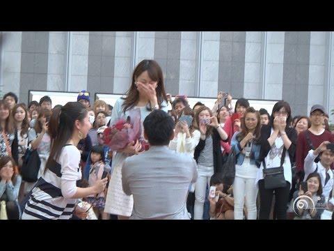 日本超感人求婚影片,看到後面才知道主角是誰!